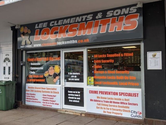 Locksmith Shop Warwickshire
